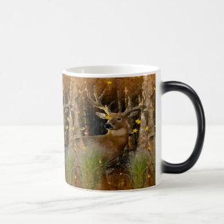 Mugg för häfte för hjort för Wisconsin stor