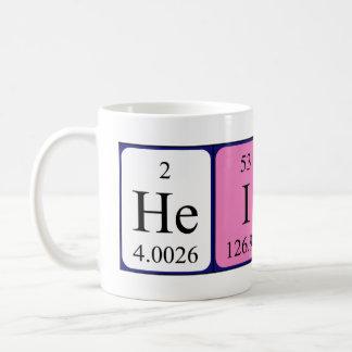 Mugg för Heidi periodisk bordnamn