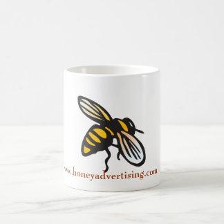 Mugg för honungadvertizingbi