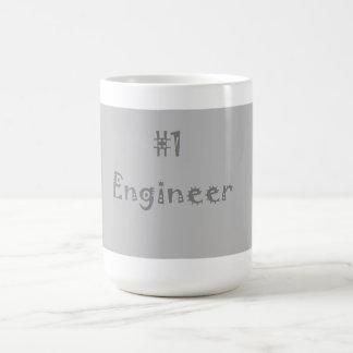 Mugg för ingenjör #1 (grått)