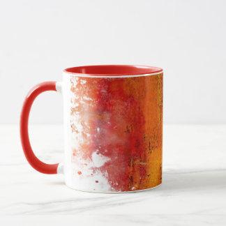 Mugg för kaffe för abstraktstänkdesign