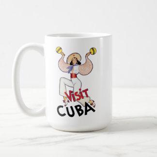 Mugg för kaffe för besökKuba 2