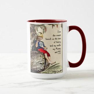 Mugg för kaffe för Ethan stamträdjumbo