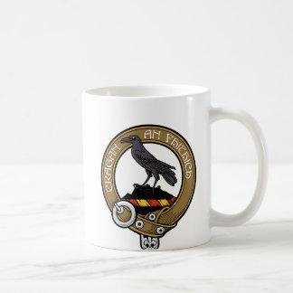 Mugg för kaffe för MacDonell klanvapensköld