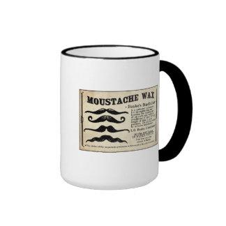 Mugg för kaffe för Mustach Moustachevax