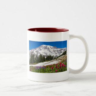 Mugg för kaffe för paradisMt. Rainer