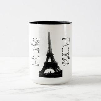 Mugg för kaffe för Paris frankrikeEiffel torn