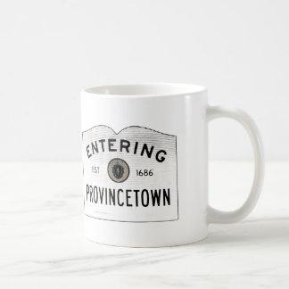 Mugg för kaffe för Provincetown uddtorsk