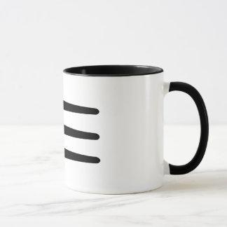 Mugg för kaffe för Strake för Chrysler korseldsida