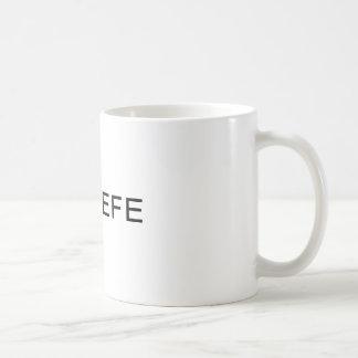 Mugg för kaffe för Twitter för COVFEFE-trumf rolig