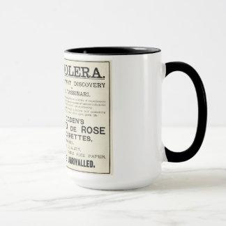 Mugg för kaffe för vintagetobakannons