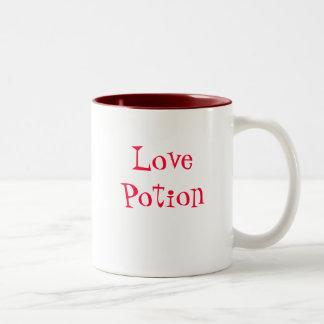 Mugg för kärlekdryckkaffe