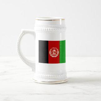 Mugg för karta för Afghanistan flagga~