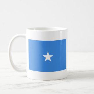 Mugg för karta för Somalia flagga~