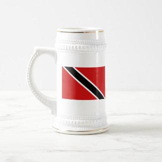 Mugg för karta för Trinidad och Tobago flagga~