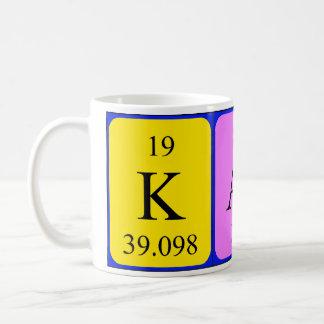 Mugg för Kath periodisk bordnamn