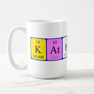Mugg för Katherine periodisk bordnamn