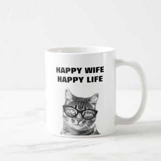Mugg för katt för citationstecken för bröllop för