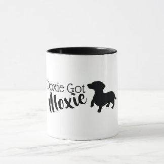 Mugg för klassiker för Doxie harMoxie