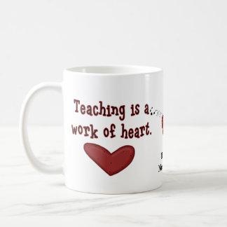 Mugg för läraregillandehjärta