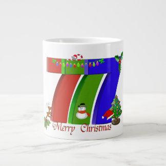 Mugg för Las Vegas 777 julespresso Jumbo Mugg