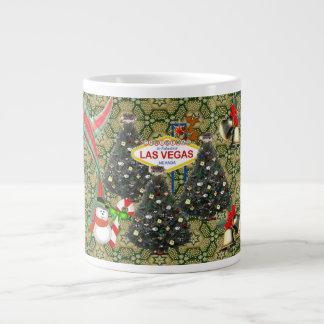 Mugg för Las Vegas julespresso Jumbo Mugg