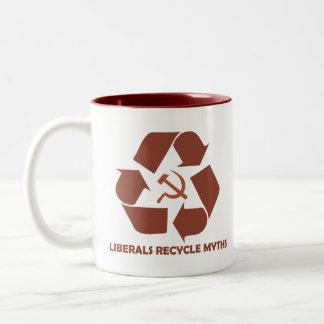 Mugg för liberal personåtervinnaMyths