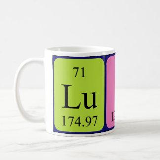 Mugg för Luis periodisk bordnamn