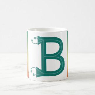 """Mugg för Monogram """"B"""""""