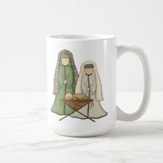 Mugg för Nativityklassikervit