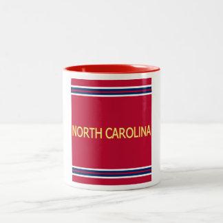 Mugg för North Carolina 11 Ringer 0z