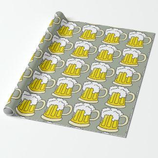 Mugg för öl för ölälskare rolig presentpapper