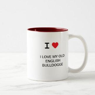 Mugg för Olde engelskaBulldogge kaffe