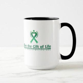 Mugg för organdonationmedvetenhet
