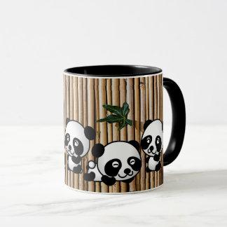 Mugg för Pandabambukaffe