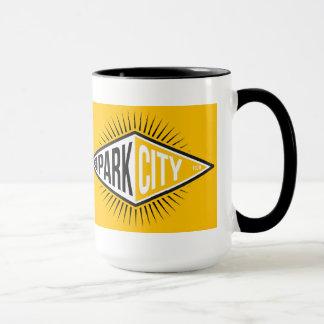 Mugg för Park City citrondiamant