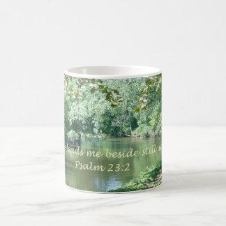 Mugg för Psalm23:2kaffe