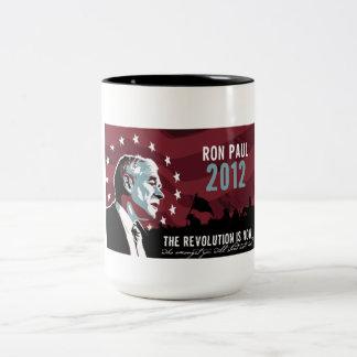 Mugg för Ron Paul revolution 2012