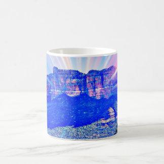 Mugg för Sedona virvelkaffe