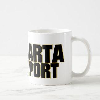 Mugg för Sparta rapportkaffe