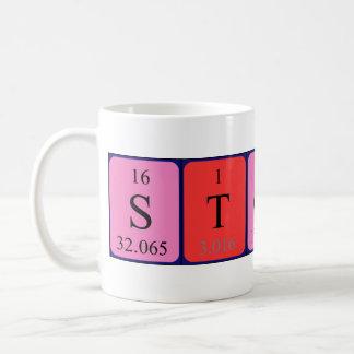 Mugg för Stoney periodisk bordnamn