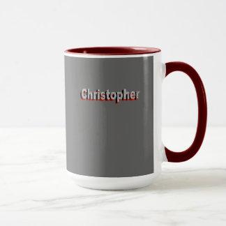 Mugg för tea för Christopher ringerstil