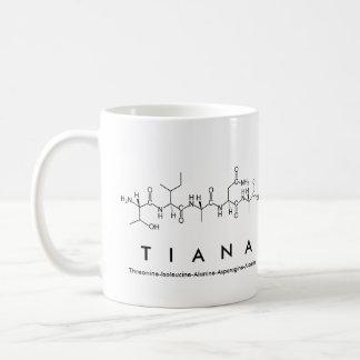 Mugg för Tiana peptidenamn