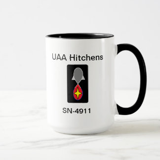 Mugg för UAA Hitchens
