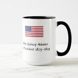 Mugg för US-presidentsouvenir - John Quincy Adams