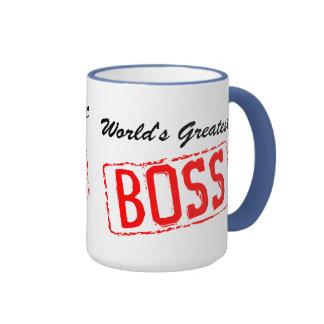 Mugg för världsmästarechefkaffe