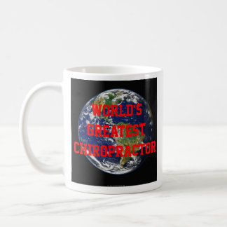 Mugg för världsmästarekiropraktorkaffe
