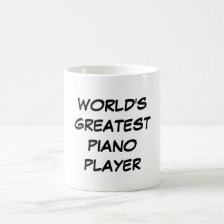 """Mugg """"för världsmästarepianospelare"""""""