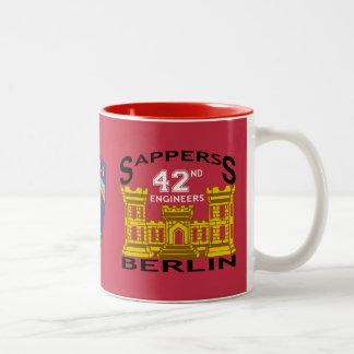Mugg för veteran för ingenjörer för Berlin brigad