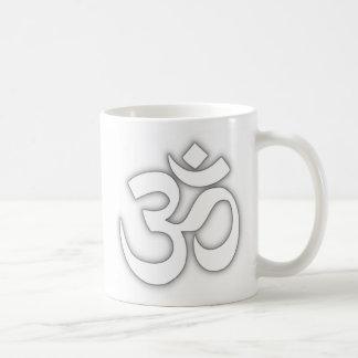 Mugg för vitOm-kaffe